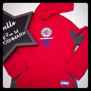 Under Armour Shirts & Tops - Under Armour LA Clippers Combine Hoodie Youth L